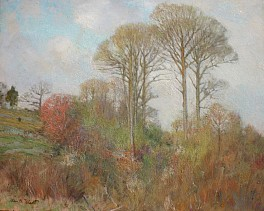 Past Exhibitions: Our Man in the Field: An exhibition and sale of paintings by 